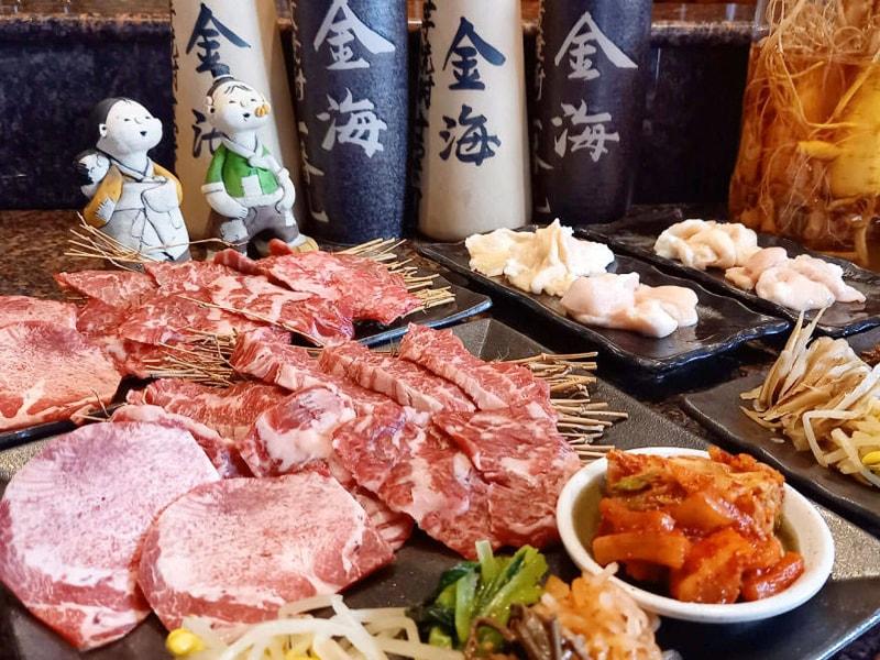【飲み放題付】各種ご宴会に!衛生安全対策万全でお肉を楽しむ『金海新宴会コース』